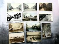Collection of Antique and Vintage Pembrokeshire Scene Postcards - incl Tenby, Mi