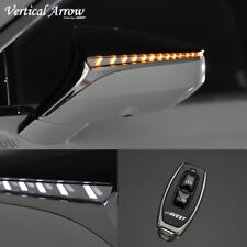 For LEXUS LS500/500h 2017-On Turn Signal Lights LED for Side Mirrors DRL White