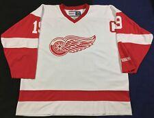 Vintage Detroit Red Wings Steve Yzerman #19 Ice Hockey NHL CCM Jersey Size2XL