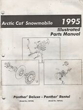 1995 ARCTIC CAT SNOWMOBILE PANTHER DELUXE PARTS MANUAL P/N 2255-149 (744)