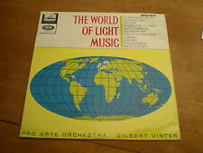 THE WORLD OF LIGHT MUSIC - CONDUCTED BY GIBERT WINTER = HMV CSD 1588 STEREO= EX+