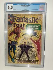 Marvel Fantastic Four #59 Cgc 6.0 Stan Lee Story Case Is Mint Silver FREE SHIP
