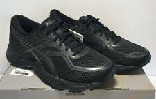 Asics Mens SZ 7.5 Gel Cumulus 19 Running Training Triple Black Shoes T7B3N-9090