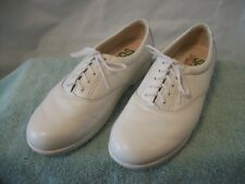 Womens SAS Tripad Comfort Wh Leather Casual Oxfords Ventilated Lightweight Sz 8N