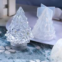 3D Weihnachtsbaum Silikon Schimmel Harz Epoxid Form DIY Nachtlicht Gift Material