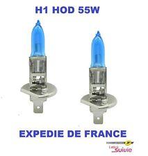 2 AMPOULES XENON HOD H1 55W +30% SUPERWHITE NEUF