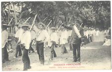 TAHITI - Otea TAHITIAN DANCE - Oceanie Francaise ca1908 Postcard