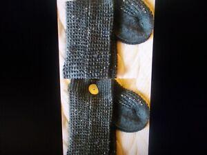 Victoria Secret RARE Over The Knee High Socks Grey Gray Knit NEW womens Xs/s
