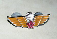 CF Canadian Airborne Parachutist Dual Qualification Jump Wing 1975 - 1986