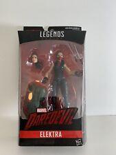 """Marvel Legends Netflix Elektra 6"""" Action Figure Man-Thing BAF"""
