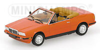 MINICHAMPS 123500 123530 MASERATI BITURBO model car copper & red Ltd Ed 1:43rd