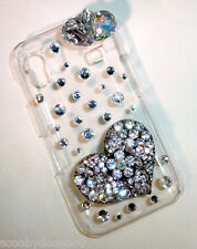 3D Crystal Hard Case - Galaxy Ace - Crystal Heart