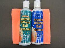 Aramith Pool Ball Cleaner Ball Restorer & Micro Fiber Towel Set