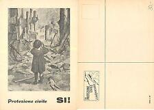 Ticino Protezione Civile rara cartolina ticinese (R-L 019)