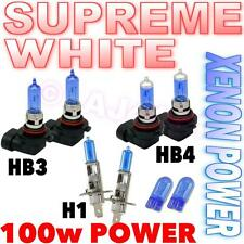 HB3 HB4 H1 100w 501 Xenon Headlight Bulb High/Low/Fog Beam Main Dip White Light
