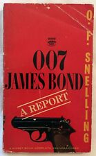 007 JAMES BOND: A REPORT by OF Snelling D2652 1st Printing Signet Paperback