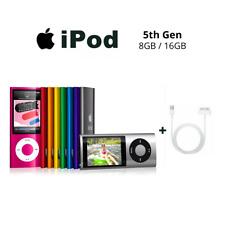 Apple iPod Nano 5th Generation - 8 GB / 16 GB - Multiple Colours - A1320 Gen