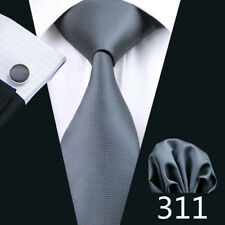 UK Delivery Mens Tie Silk Classic Solid Plain Blue Black Red Neckie Wedding