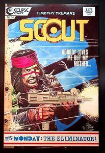 Scout (Eclipse, 1985 Series) #14 Dec-1986 [5D1] FN/VF