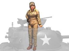 Aurora Model 1/35 Figures WWII U.S. Tank Crew 1947 #2  female soldier ML-073