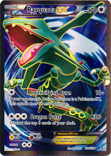 Rayquaza-EX - 104/108 - Full Art Ultra Rare -(x1)- Roaring Skies - NM-Mint!!!