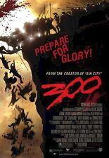 300 MOVIE POSTER ~ USA REGULAR 27x39 Gerard Butler Prepare For Glory Spartan