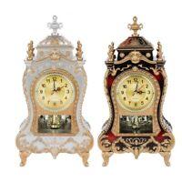 Desk Vintage Alarm Clock Classical Royalty Living Room Sit Pendulum Clocks
