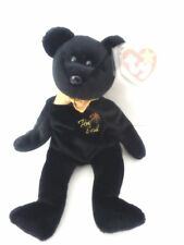 "NEW Ty Beanie Baby "" The End "" Bear 1999 MWMT"
