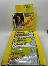 1990 CLASSIC WRESTLING WAX BOX - SERIES 2 HOGAN ANDRE PIPER WARRIOR WWE WWF