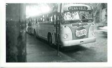 Q178 NEG/RP 1950s WILLIAMSPORT PA  WB COMPANY BUS #12 ' PENN-VALE '