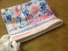 NEW Lilly Pulitzer Shining Sea Beach Towel XL with tassels