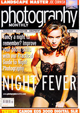 Photography Monthly magazine with Canon EOS 300D & Tamron 180mm tested Nov 2003