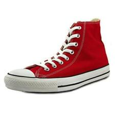 Zapatillas deportivas de mujer Converse de color principal rojo de lona