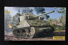 YP055 HELLER 1/35 maquette tank char 81161 Sherman M4A3(76)W