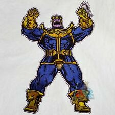 Marvel Thanos Embroidered Big Patch for Back Comics Avengers Fantastic Four 4