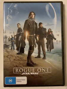 DVD - Rogue One A Star Wars Story (2016 Movie) Region 4 - New & Sealed