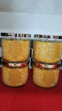 4 BATH AND BODY WORKS HONEYSUCKLE  3 WICK CANDLE