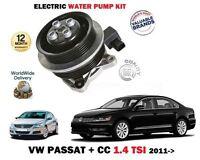 FOR VOLKSWAGEN VW PASSAT + CC 1.4 TSI CTHD 160BHP 2011 > NEW WATER PUMP KIT