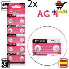 2x AG4 PILAS pila de botón baterías 377A boton bateria AG 4 GA4 SR626377 376 377