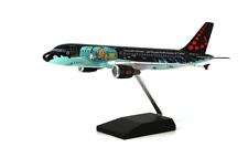 "Avion SN BRUSSELS AIRBUS A-320 ""Tintin Rackham"" TINTIN résine 37cm Moulinsart"