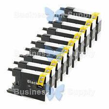 10 BLACK LC71 LC75 Compatible Ink Cartirdge for BROTHER Printer MFC-J435W LC75BK