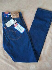 New Levis LVC 606 Big E Orange Tab Denim Jeans Made in USA Size 29×34
