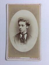 Victorian Carte De Visite CDV Photo: Gentleman: WH Brunton & Co: Whitehaven