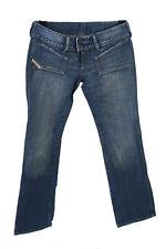 Diesel Vintage HUSH Bas Taille Jeans Boot Leg Rétro Denim 30 in (environ 76.20 cm) Bleu-J4285
