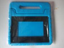 "Ipad foam cover blue for kids children inset 9"" x 6 1/4"" holder"