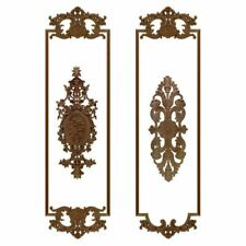 Simple Carved Wood Decal Vintage Inlay Applique Furniture Frame Home Decorations