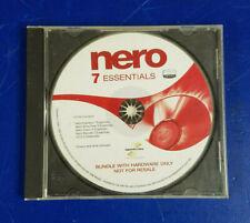 Nero 7 Essentials Windows Vista Ready Disc Bundle