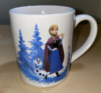 "Disney MUG FROZEN Elsa And Anna 3"" Tall Small Ceramic 2.5"" diameter"