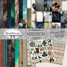 Scrapbooking paper 12x12 pad 12 sheets Viking