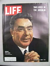 LIFE Magazine October 23 1964 ~ Take-Over in The Kremlin ~ Olympics  ~ Ads 6